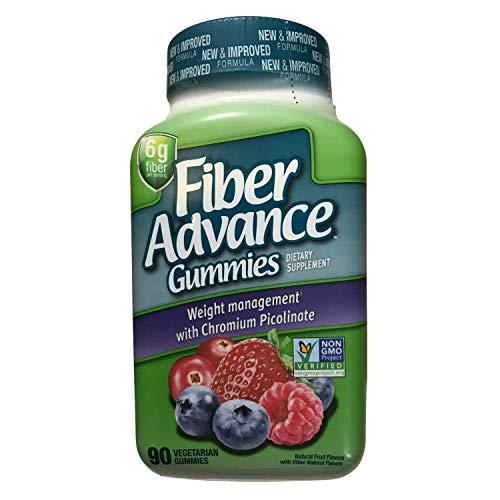 Fiber Advance Gummies Weight Management, 6G Fiber, 90 Gummies