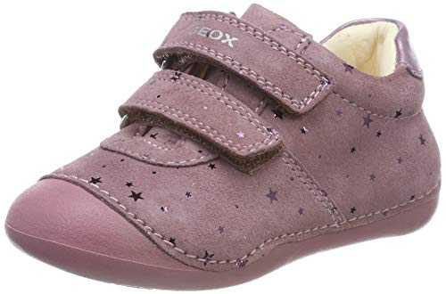 Geox Baby Mädchen B TUTIM B J02D5C0DSBC First Walker Shoe, DK PINK, 23 EU