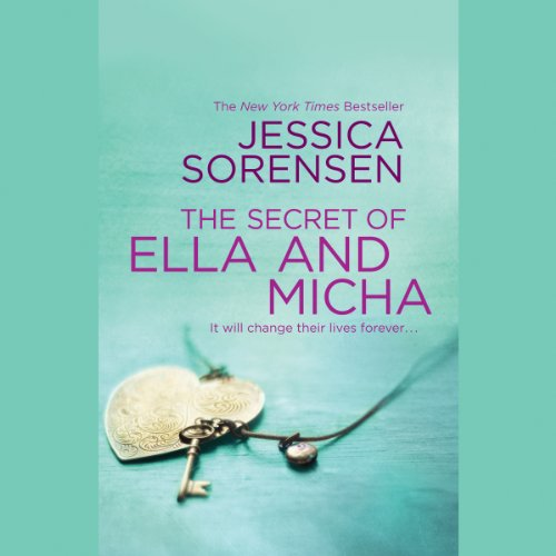 The Secret of Ella and Micha audiobook cover art