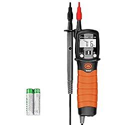 Digital Pen Type Multimeter INFURIDER YF-38B Handheld Auto-ranging Volt Tester for DC AC Voltage,Resistance,Ohm Volt Test Meter with Diode Continuity