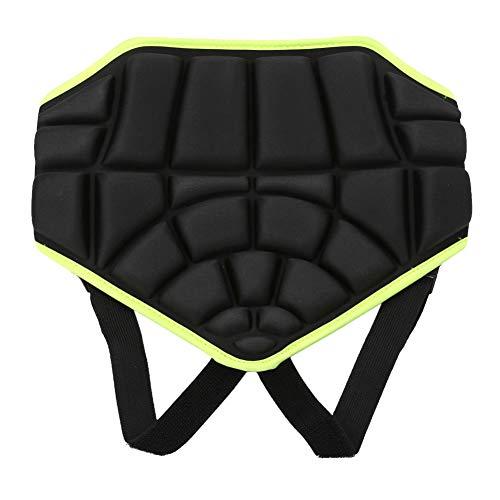 Tbest Niños Deportes Butt Pad Ski Snow Boarding Skate Hip Pantalones Cortos Acolchados de protección