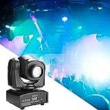 Zoternen 50W DMX 512 Teste Mobili LED Luci da Palco, Attivazione vocale Luce della Fase, 8...
