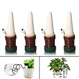 Joyeee 4Pcs Automatique céramique Plante d'irrigation d'eau Distributeur,...