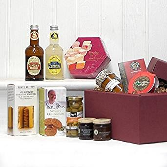 The Eton Gourmet Drink and Food Gift Hamper - Gift Ideas for Christmas, Mum, Mothers Day, Birthday, Anniversary, Corporate, Business gifts, Dad, Fathers Day