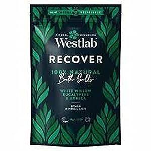 Westlab 's Recover Epsom Sales con sauce blanco y eucalipto