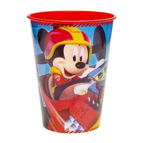 Les Colis Noirs LCN - Verre en Plastique Mickey et Ses Amis : Top Départ 26cl - Vaisselle Cadeau Enfant - 134