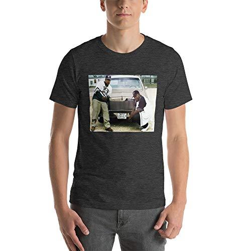 UGK T Shirt; Bun B Pimp C Unisex T-Shirt Dark Grey Heather
