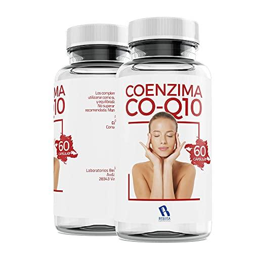 Coenzima Q10 200 mg - Colágeno Q10 - Reafirma y Cuida tu Piel - Antiedad - Calcio + Magnesio + Fósforo - Articulaciones Sanas -Suplemento Para Una Piel Radiante - 60 Cápsulas