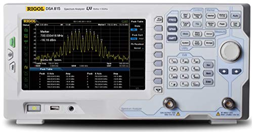Rigol DSA815-TG Tracking Generator Spectrum Analyzer