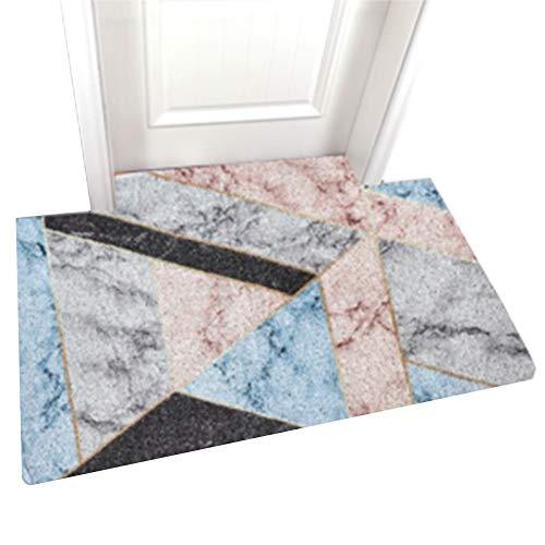 ZWRYW Tapijt, textiel, deurmats, tapijten, entree, huisingang, 10 mm dik, antislip, voor keuken, huis, logeerkamer, op maat te snijden, wasbaar