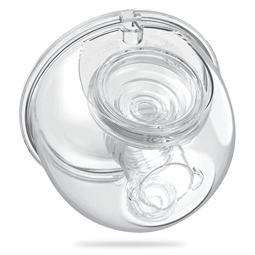 Momcozy Flange Insert 19mm Compatible with Momcozy S9/S10/S12 Wearable Breastpump. Made by Momcozy. Wearable Breast Pump Shield/Flange Insert. Momcozy Pump S9/S10/S12 Parts Replace - 19mm