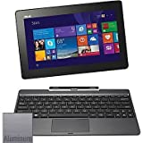 ASUS T100TAM-C12-GR, 10.1' - Detachable 2-in-1 Touchscreen Laptop - Intel Atom Z3775 - 64GB HD - 2GB RAM - Win8.1