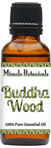 Miracle Botanicals Wildcrafted Buddha Wood Essential Oil - 100% Pure Eremophillia Mitchelli - 5, 10 or 30ml/1oz sizes - Therapeutic Grade - 30ml/1oz