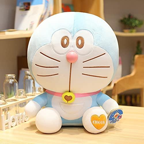 Juguetes de peluche Anime Support Me Doraemon peluche peluche gato muñeca suave almohada bebé niña cumpleaños gif (color: 4, altura: 23 cm)
