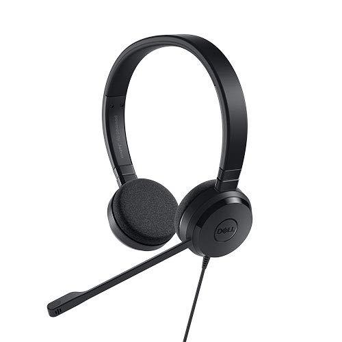 Dell UC150 Binaural Head-Band Black Headset – Headsets (PC/Gaming, Binaural, Head-Band, Black, in-line Control, Wired)