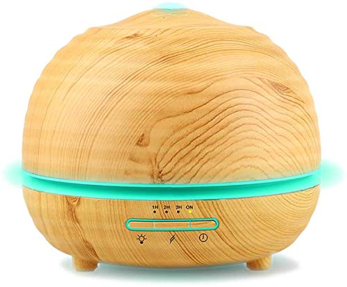 300ml houtnerf aroma luchtbevochtiger, gezond huis hotel clubhuis diffuser negatieve ionen luchtzuivering watertekort automatische bescherming