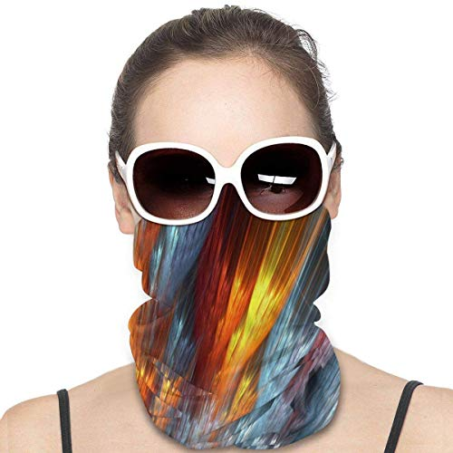 XXUU Abstract Fire Face Mask Bandanas Scarf Neck Warmer Headband for Dust Outdoors Sports Dust Sun, Cold Protection