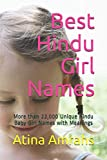 Best Hindu Girl Names: More than 22,000 Unique Hindu Baby Girl Names with Meanings