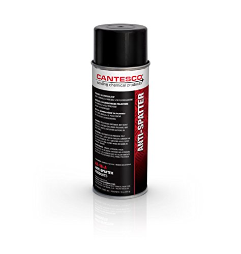 CANTESCO AS-16-A Red Heavy Duty Solvent Based Anti-Spatter, 16 oz Box/Aerosol Cans
