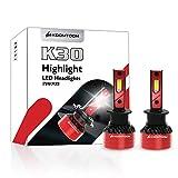KOOMTOOM H1 Bombilla LED para faros delanteros con decodificador Canbus sin errores incorporado Alta potencia 90W 16000Lm Bombilla...