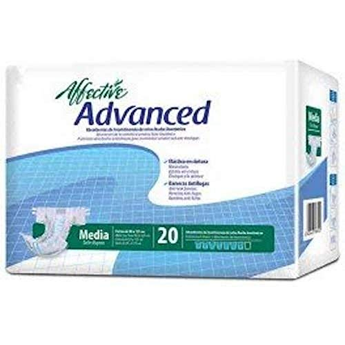 Affective Ladies Fraldas Incontinência Advanced M 20 unidades