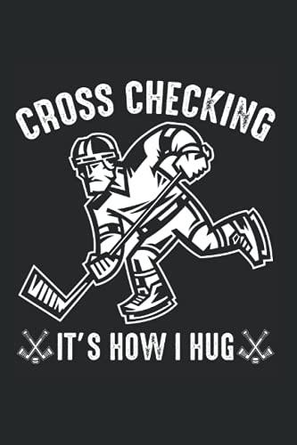 Kalender 2022: Cross Checking Eishockeyspieler Stürmer DIN A5 Organizer mit 120 Seiten | Notizbuch Terminplaner Wochenkalender Jahresplaner