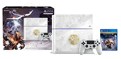 PlayStation 4 500GB Limited Edition Console - Destiny: The Taken King Bundle [Discontinued] [video game]