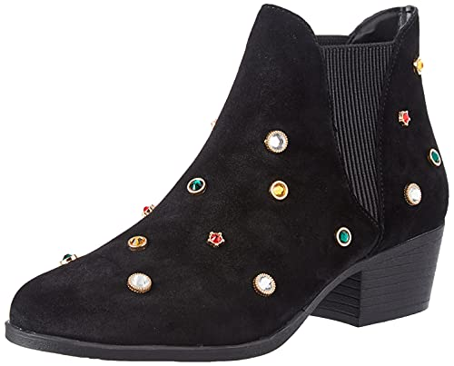 Desigual Shoes_Dolly_Jewel, Barca ad Ancora. Donna, Nero, 37 EU
