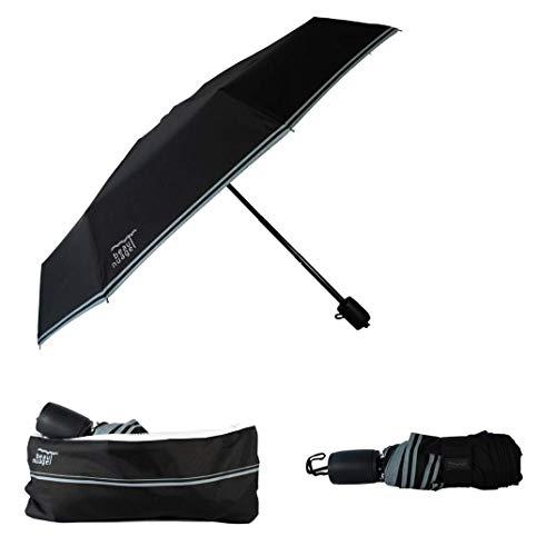 Beau Nuage - L'Original, Parapluie solide et pliant avec rangement facile, Housse absorbante brevetée, Poignée à mémoire de forme, Parapluie compact pour homme et femme