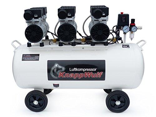 KnappWulf KW2100 Kompressor / 100 Liter / 8 Bar / Ölfrei / Silent - 7