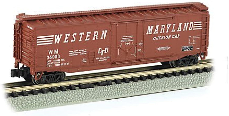 Bachmann 71087 N Silber Series 50' Plug Door Box Car; Western Maryland B0013K4R0U Angenehmes Gefühl  | Umweltfreundlich