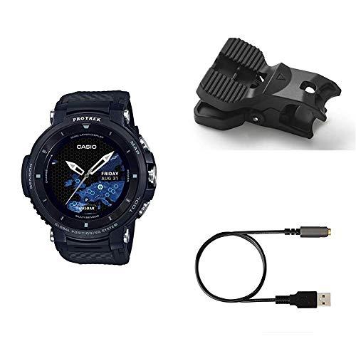 [カシオ] 腕時計 スマートアウトドアウォッチ プロトレックスマート GPS搭載 WSD-F30-BK メンズ ブラック