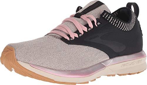 Brooks Women's Ricochet Black/Tan/Pink 8.5 B US