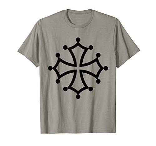 Occitan Cross T-Shirt Cathar Rallying Symbol Catharism