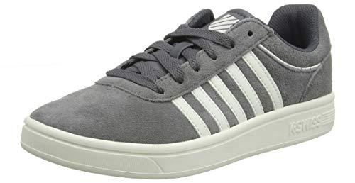 K-Swiss Damen Court CHESWICK SDE Sneaker, Grau (Smoked Pearl/Snowht 059), 39 EU