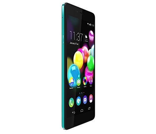 Wiko Pure Smartphone, 16 GB, Nero/Turchese