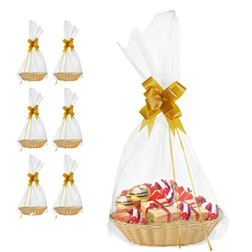6 Pack DIY Baskets for Lottery Gifts