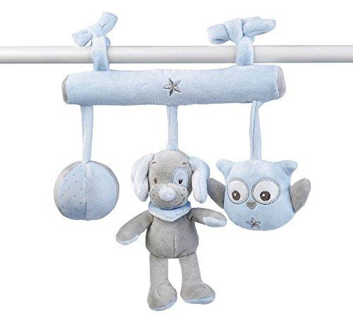 Nattou Babyschale Spielzeug Jungen, blau - Sam und Toby