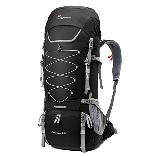 MOUNTAINTOP 75L Internal Frame Hiking Backpack