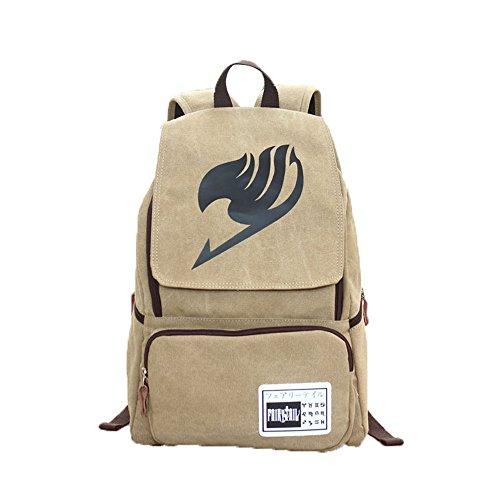 JUND Männer Canvas Mode Anime Rucksack Schule Schultasche Jungen Freizeit Druck Daypack Outdoor Travel Backpack Groß