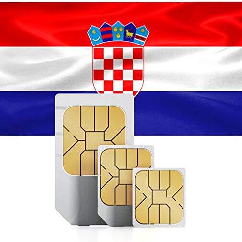Tarjeta SIM Prepaga (UK Three) Croacia: Amazon.es: Electrónica