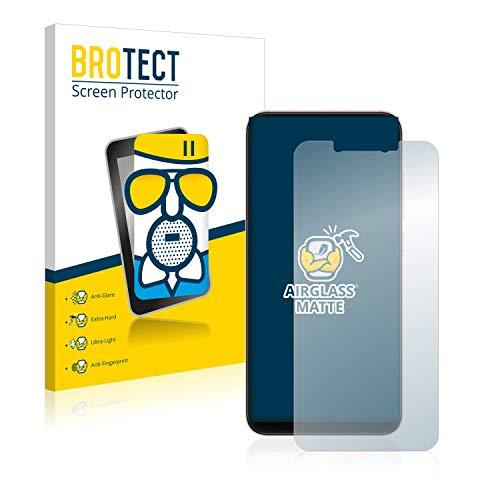 BROTECT Protector Pantalla Cristal Mate Compatible con Xiaomi Mi 8 / Mi 8 Pro Protector Pantalla Anti-Reflejos Vidrio, AirGlass