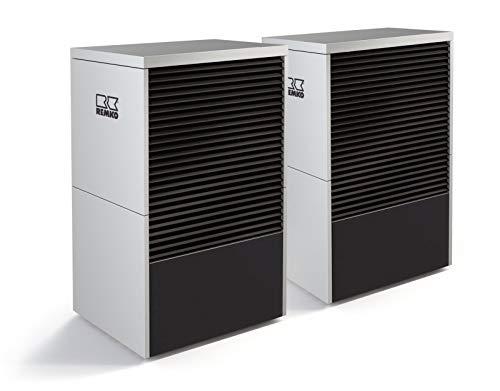 Remko Luft/Wasser Monoblock Wärmepumpe | LWM150 Duo Graphit | 20-26 kW