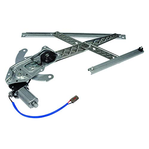 New Window Regulator W/Motor Front Passenger Side Right Replacement For 97-02...