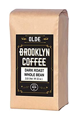 Dark Roast Whole Bean Coffee - For A Classic Black Coffee, Breakfast, House Gourmet, Italian Espresso- Roasted in New York