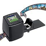 DIGITNOW! High Resolution 135 Film/Slide Scanner, Slide Viewer and Convert 35mm Negative Film &Slide to Digital JPEG Save into SD Card , with Slide Mounts Feeder No Computer/Software Required.
