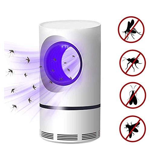 Muggenval Killer Zonder Afstotend, USB Fotokatalytische Muggen Destroyer Lamp Met UV Mosquito Magneten En Afzuiging, Milieuvriendelijk Voor Kinderen Familie