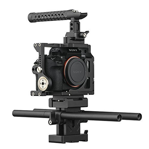 Ikan STR-A7II Stratus gaiola completa para câmeras Sony A7 II, preto