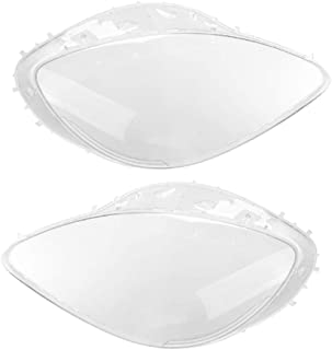 FHNLKFS for Mercedes S W221 2008, Headlight Lens Cover fit Car Headlight Lamp Xenon Lens Shell Cover New Aftermarket Car p...