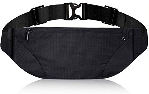 Fanny Pack for Men & Women - Running Belt - Waist Pack Pouch Bag with Adjustable Strap for Traveling Outdoors Sports Marathon Gym Casual Hiking Cycling Cashier's box